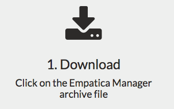 Download the Empatica Manager